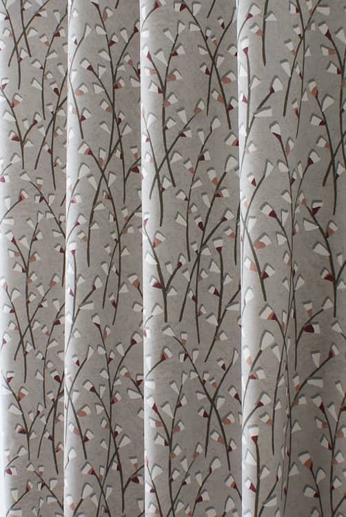 Tenby Rose Roman Blinds