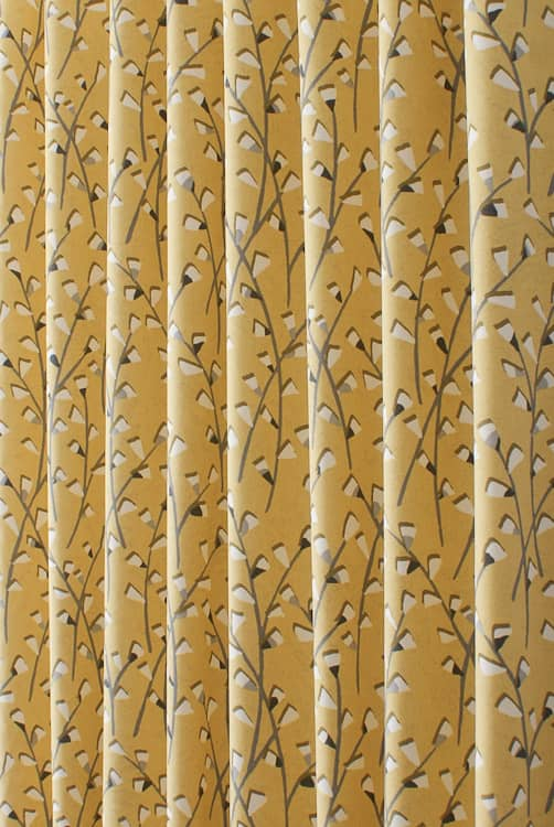 Tenby Sunflower Made to Measure Curtains