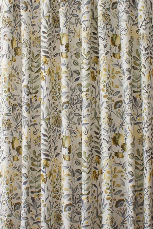 Whitwell Buttercup Curtain Fabric