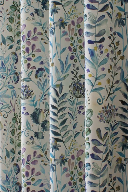 Whitwell Sky Made to Measure Curtains