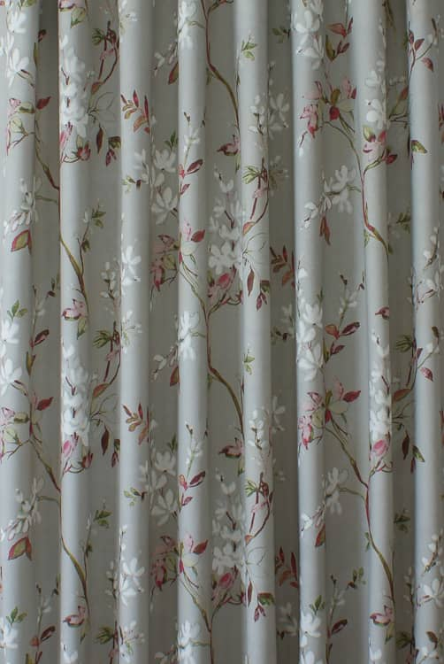 Florence Magenta Curtain Fabric
