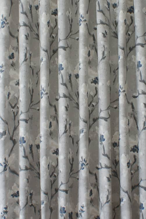 Mayfield Fog Curtain Fabric