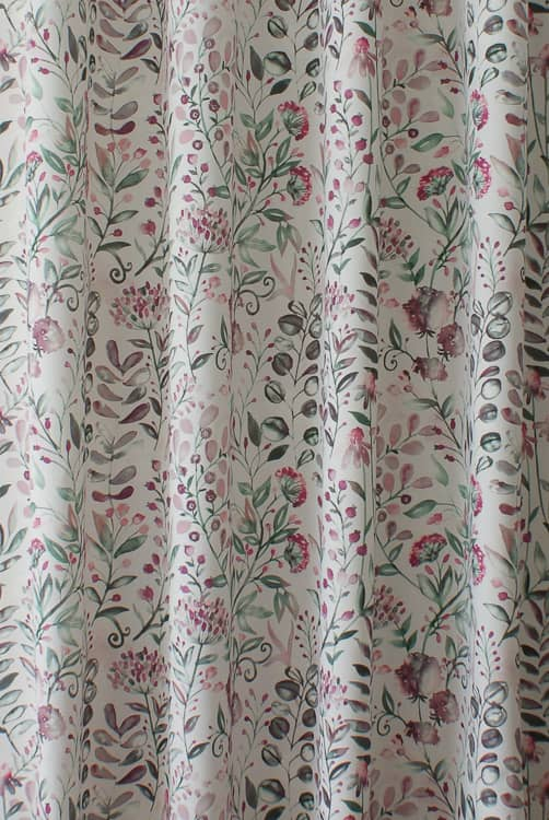 Whitwell Rose Curtain Fabric