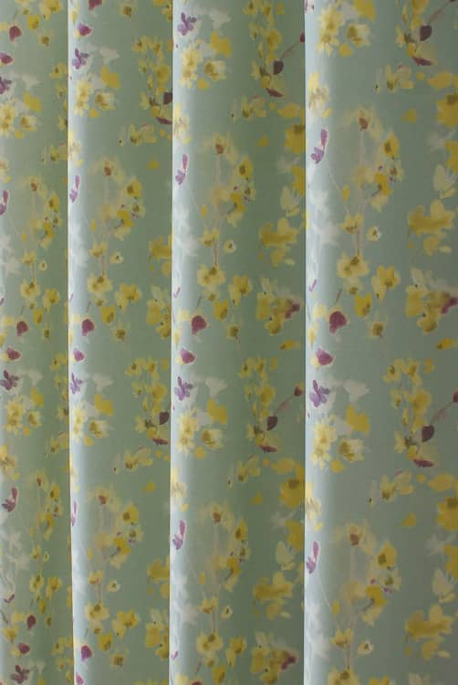 Alverstone Buttercup Curtain Fabric
