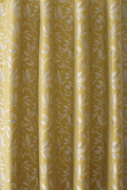 Neath Sunflower Curtain Fabric