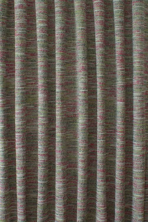 Nix Magenta Curtain Fabric