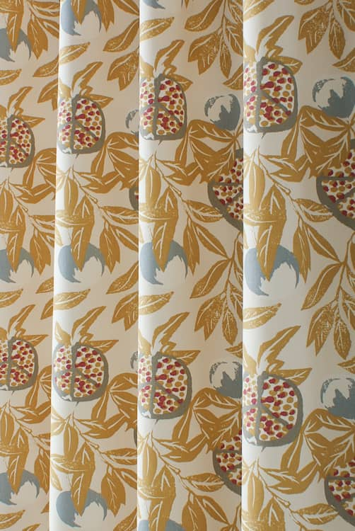 Sanson Ochre Made to Measure Curtains