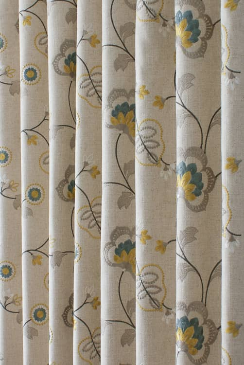 Chatsworth Acacia Curtain Fabric