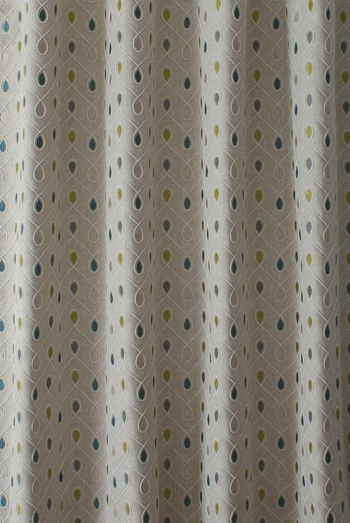 Healey Teal Roman Blinds