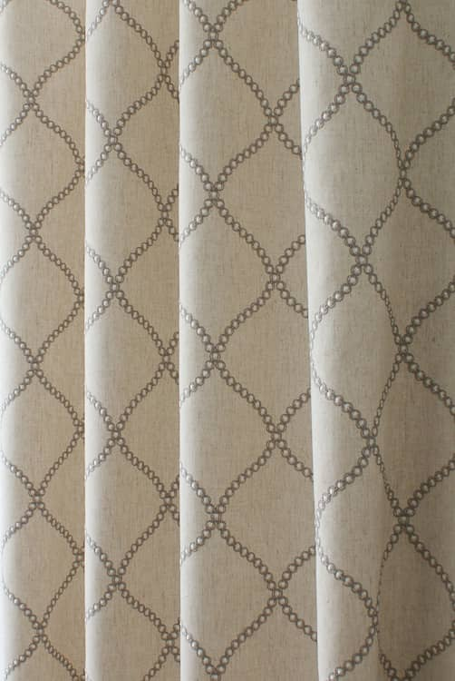 Sawley Natural Made to Measure Curtains