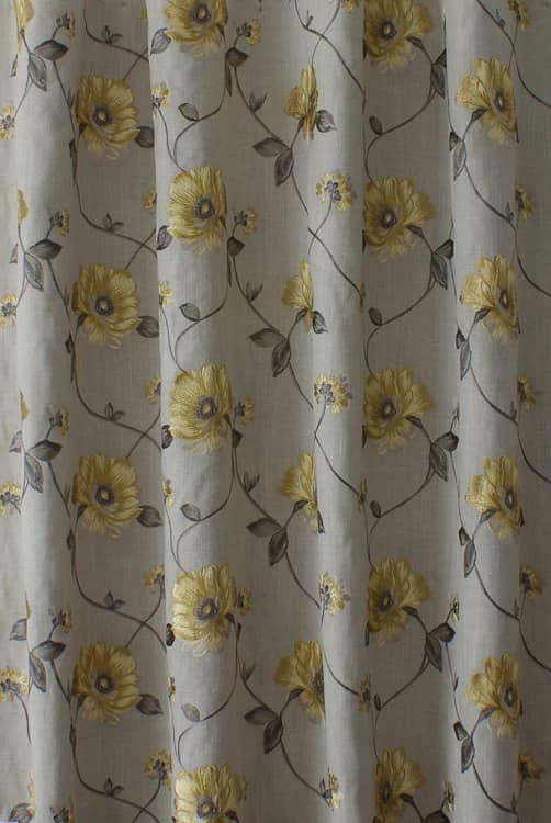 Malindi Chartreuse Linen Made to Measure Curtains