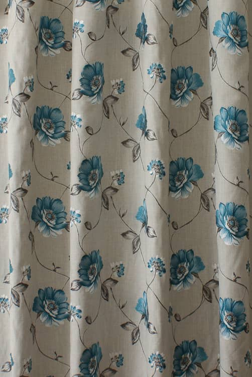 Malindi Peacock Curtain Fabric