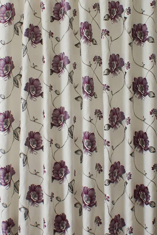 Malindi Purple Haze Curtain Fabric