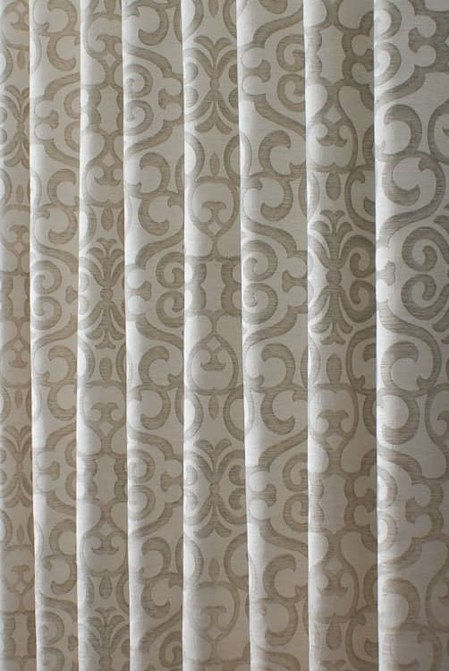 Bellucci Vanilla Curtain Fabric