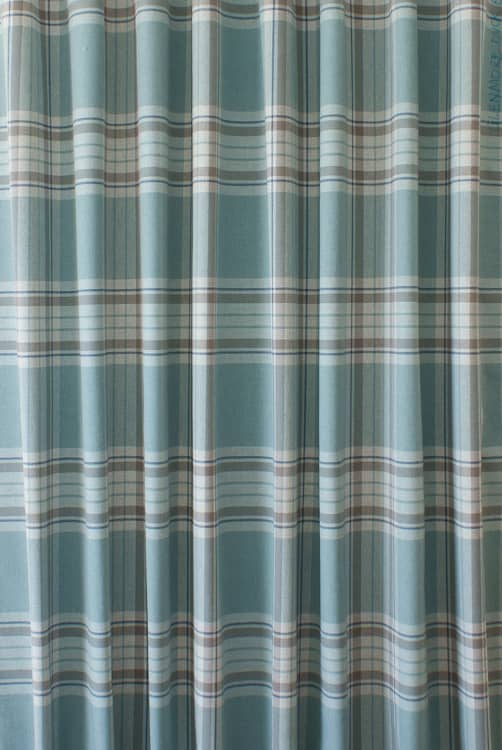 Glenmore Duck Egg Curtain Fabric