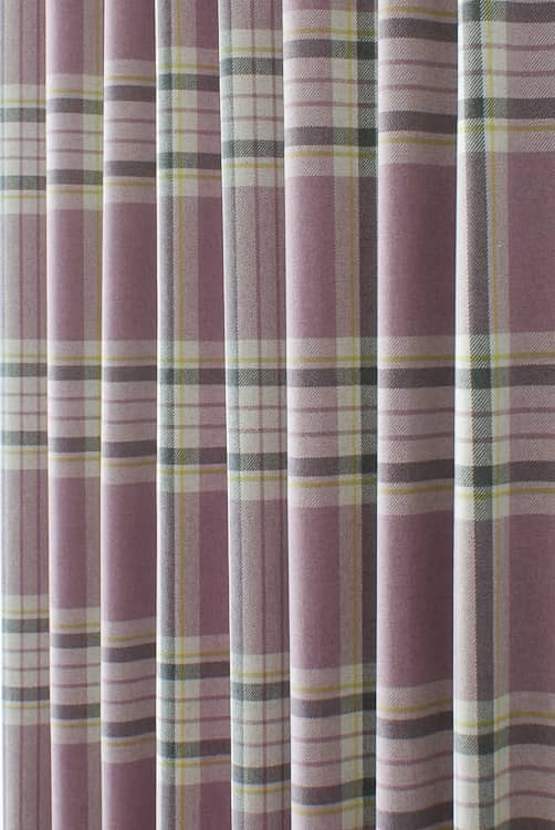 Glenmore Heather Roman Blinds