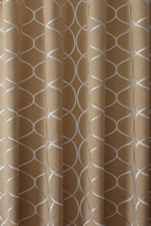 Rossini Gold Roman Blinds