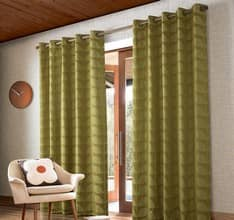 Jacquard Stem Yellow-Olive