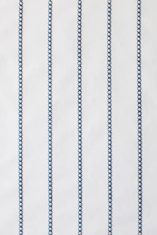 Mahler Blue Roman Blinds