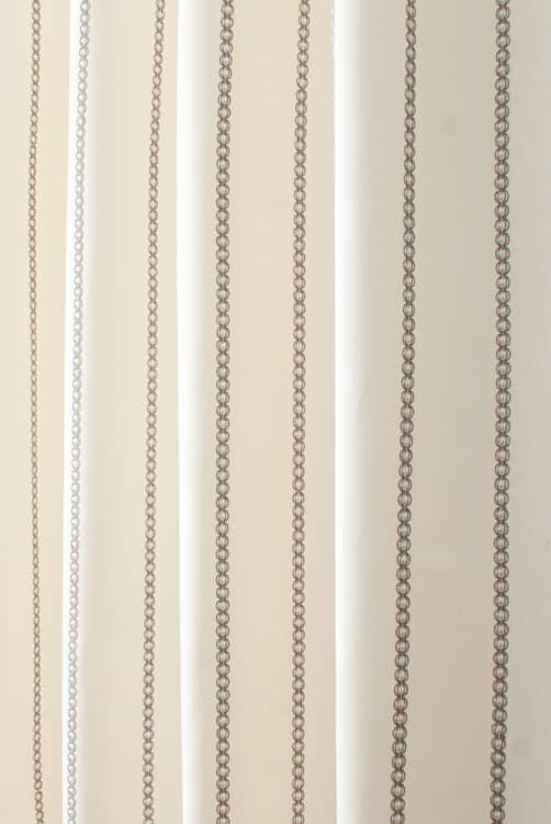 Mahler Mink Roman Blinds