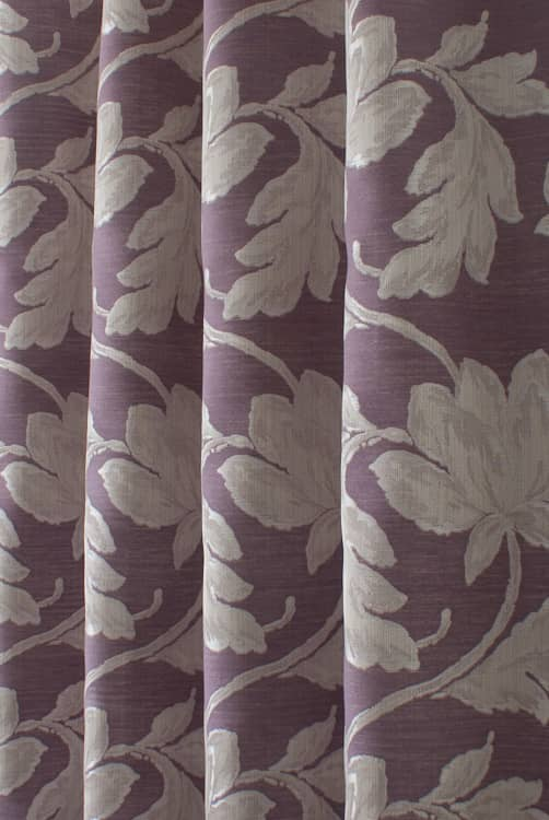 Vivaldi Berry Roman Blinds