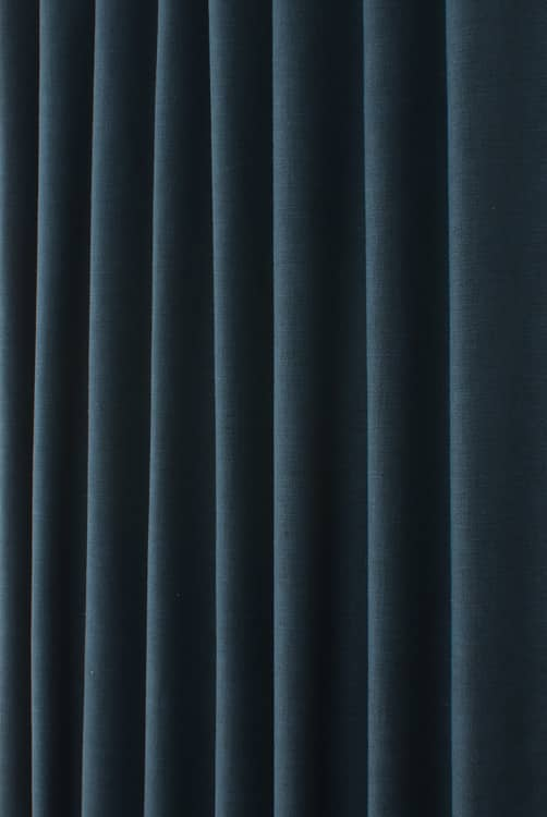 Lunar Indigo Roman Blinds