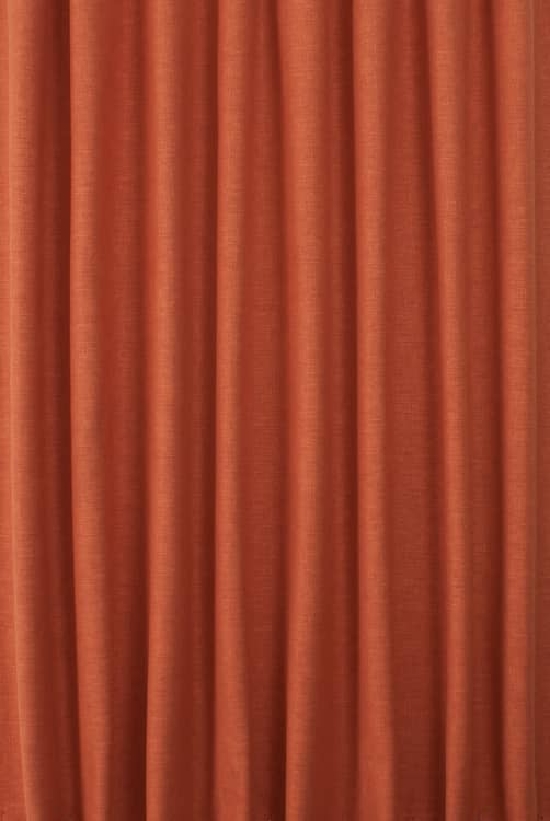 Lunar Paprika Curtain Fabric