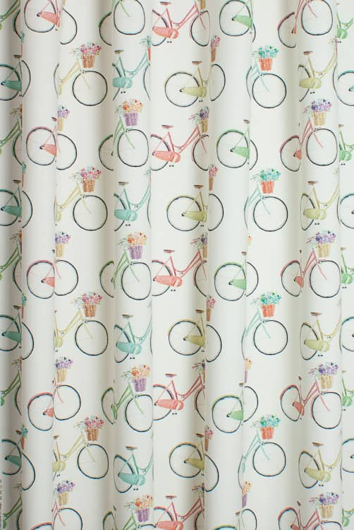 Cycles Cream Roman Blinds