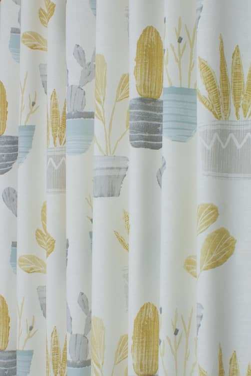 Cactus Mineral Made to Measure Curtains