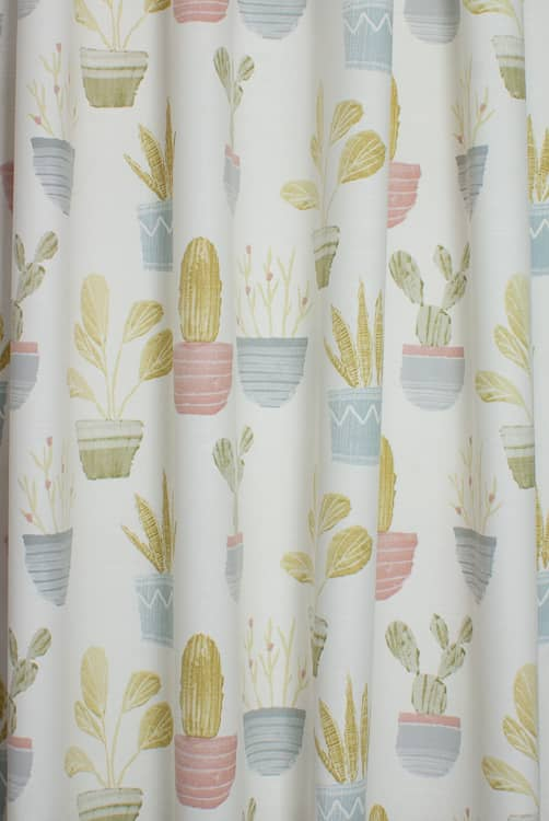 Cactus Pastel Made to Measure Curtains
