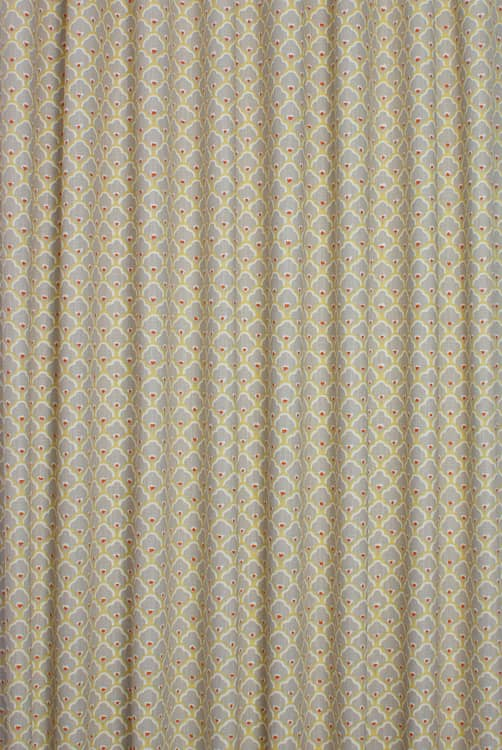 Sensu Mocha/Spice Curtain Fabric