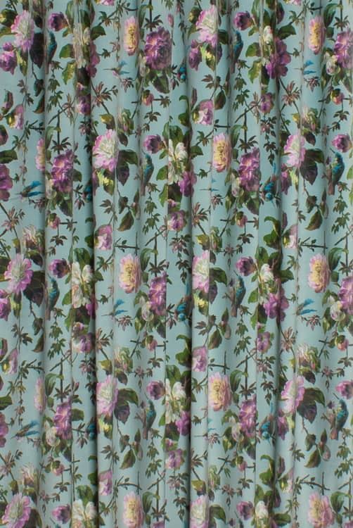 Renaissance Velvet Seafoam Made to Measure Curtains