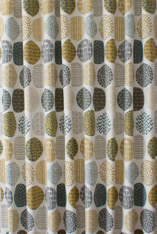 Casa Saffron Curtain Fabric