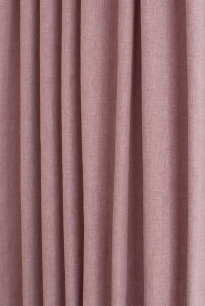 Pure Dusty Rose Curtain Fabric
