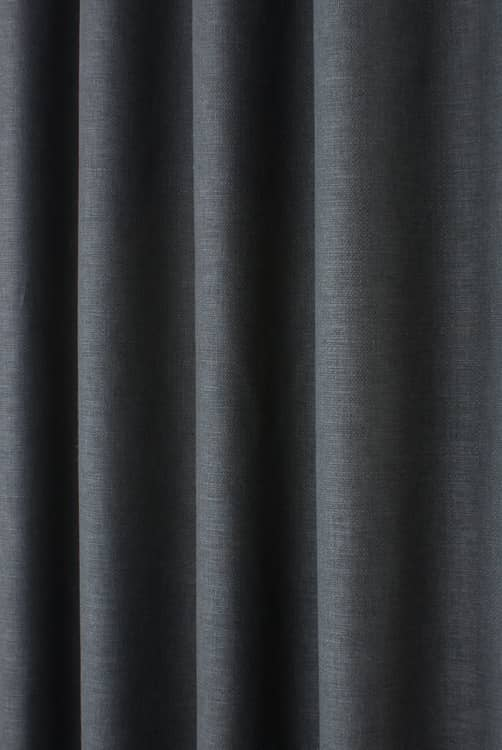 Lunar Charcoal Made to Measure Curtains