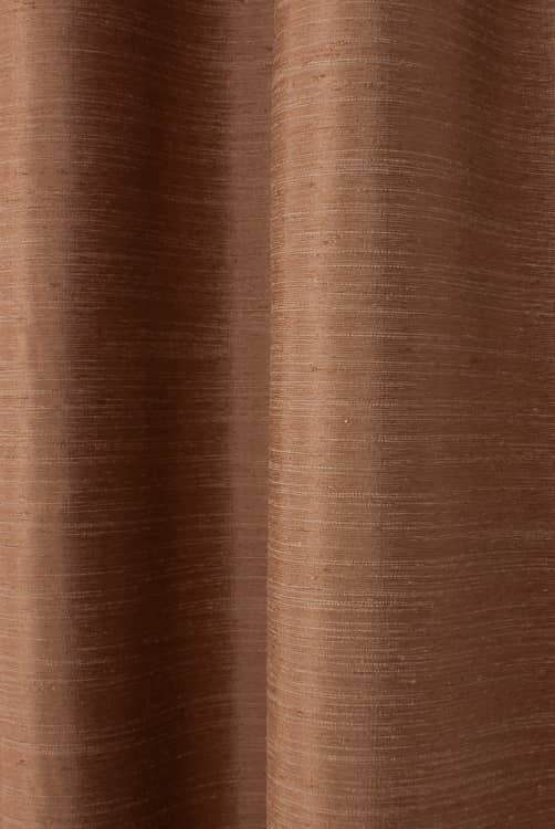Tussah Cinnamon Made to Measure Curtains