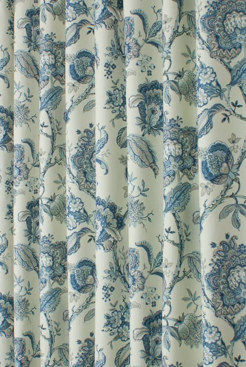 Rosemore Wedgewood Roman Blinds