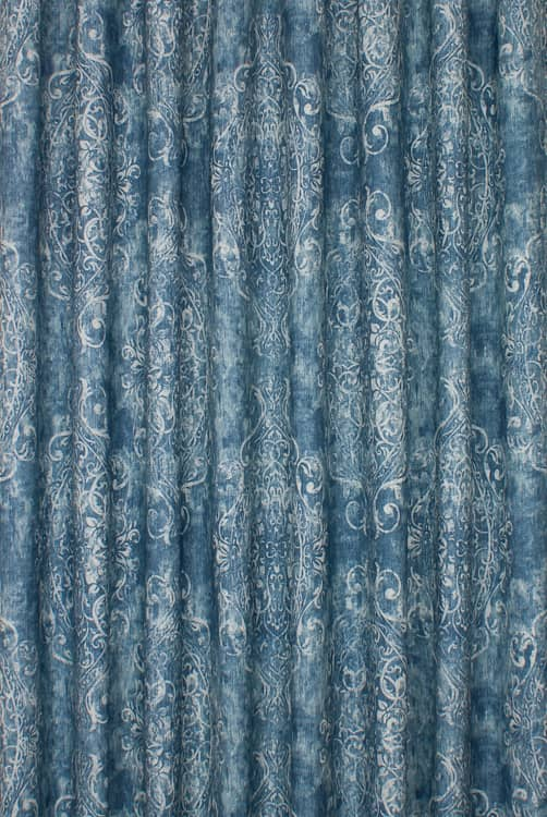 Sherbourne Wedgewood Curtain Fabric