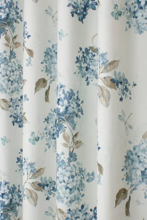 Belvoir Wedgewood Made to Measure Curtains