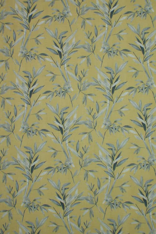 Clovelly Ochre Curtain Fabric