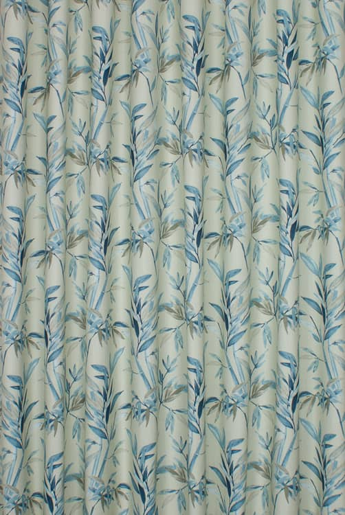 Clovelly Wedgewood Roman Blinds