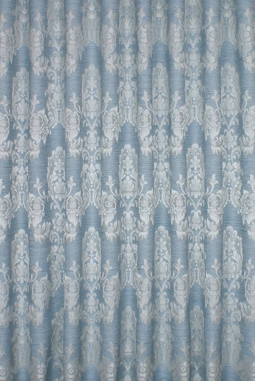 Morgan Azure Roman Blinds