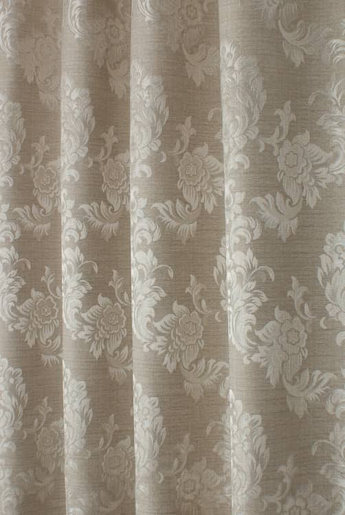Morgan Biscuit Curtain Fabric