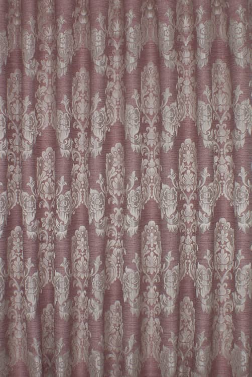 Morgan Bordeaux Made to Measure Curtains