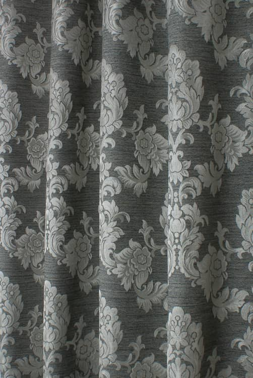 Morgan Charcoal Made to Measure Curtains