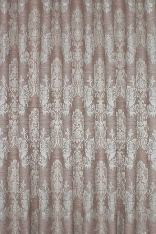 Morgan Russet Curtain Fabric