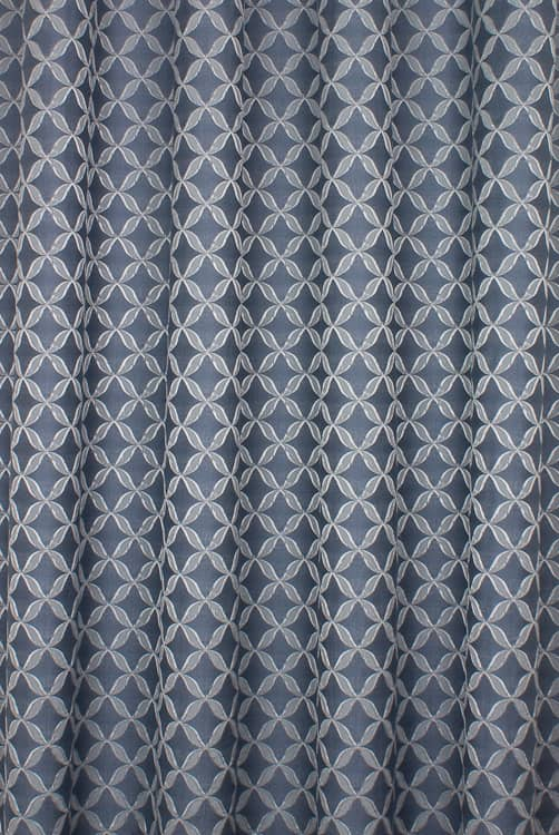 Erla Denim Curtain Fabric