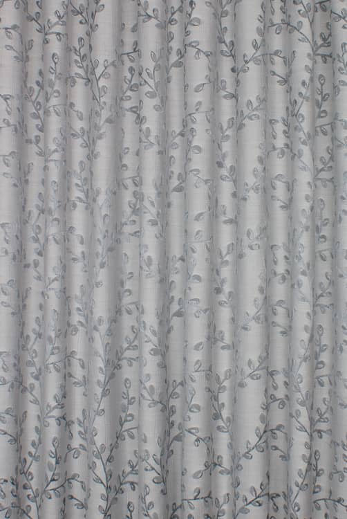 Hartley Silver Roman Blinds