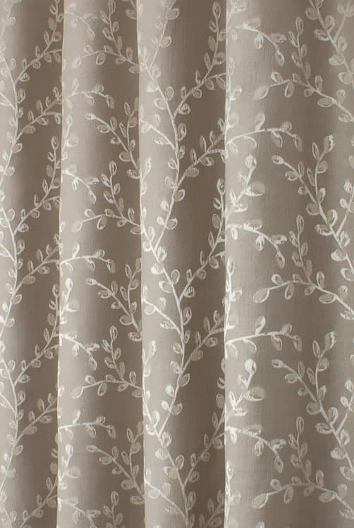 Hartley Truffle Roman Blinds