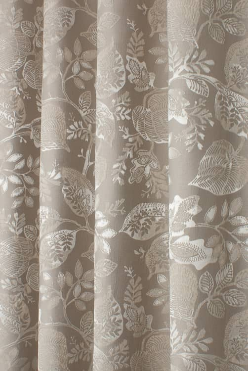 Winton Truffle Made to Measure Curtains